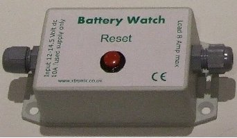 A picture of the Battery Watch Unit